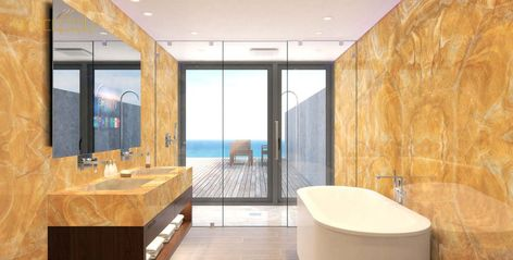 مغاسل رخام طبيعي بالرياض 2020 Marble Bathtub Bathroom