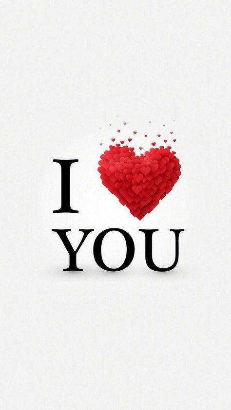 Valentine I Love You Wallpaper - Best iPhone Wallpaper