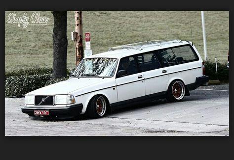 Volvo 240 Wagon Slammed Volvo 240 S Pinterest