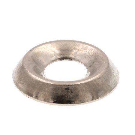 TUOREN M5 Flanged Hex Nylon Lock Nut Stainless Steel-50pcs