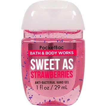 Bath Body Works Sweet As Strawberries Pocketbac Hand Sanitizer