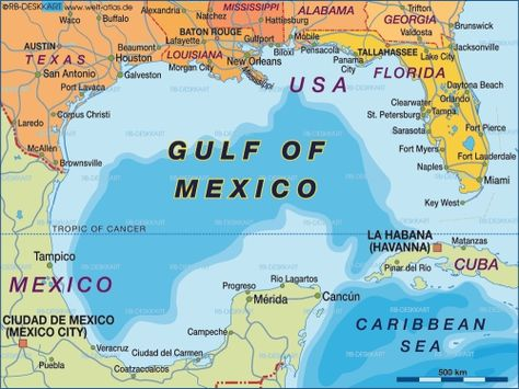 Maps Gulf Of Mexico Water Temperature Map Blog With Collection - Mexico temperature map