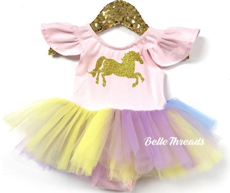 454a476596632 Unicorn Pastel Tutu Dress - Unicorn Costume | Dressing Kame. | Unicorn dress,  Unicorn costume, Unicorn birthday parties