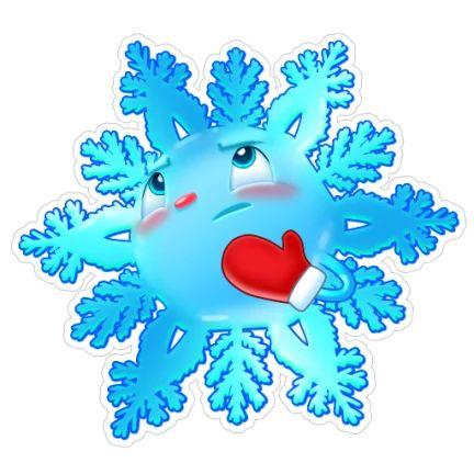 она снежинки с рожицами картинки зря называют