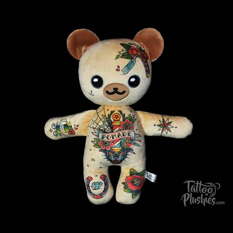 tatuaje Tattoo Plushie Mr. BarBear. Do...