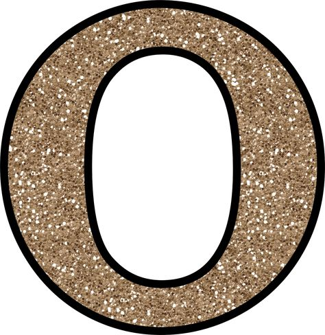 Glitter Without The Mess! Free Digital Printable Glitter Numbers 0 - 9: Glitter Number 0 To Print