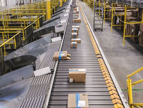 Pattern Sensitive Seizure Triggers Amazon Fulfillment Warehouse Grooved Conveyor Belt And Grooved Escalators Amazon Fulfillment Center Amazon Minimum Wage