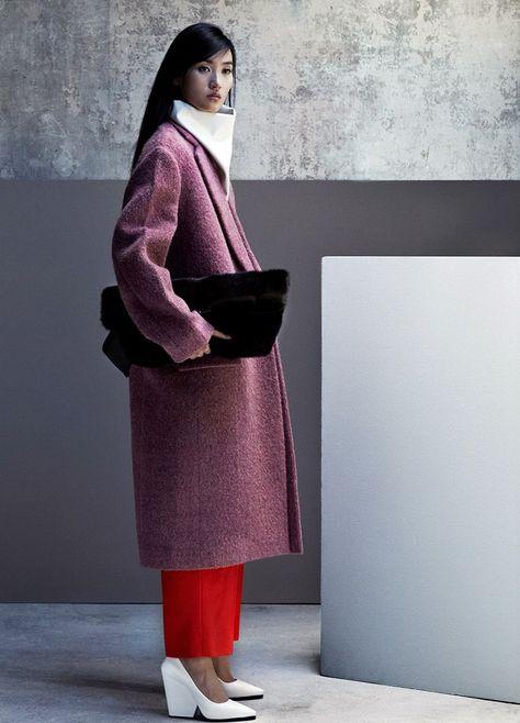 Céline+Lina Zhang by Julia Hetta (New Minimalism - Vogue China October 2012)