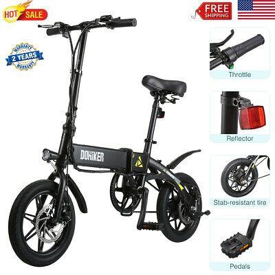 Ad Ebay Link 14 Electric Bicycle Folding Led E Bike Mountain