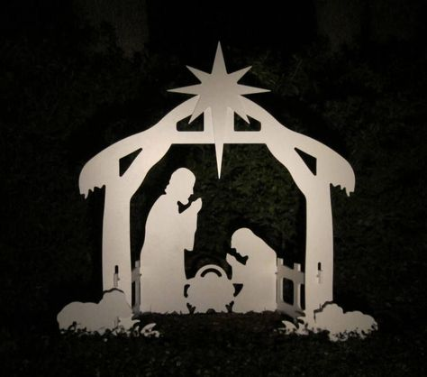 15 Best Nativity Homemade Images On Pinterest Scenes Outdoor Scene And Christmas Crafts