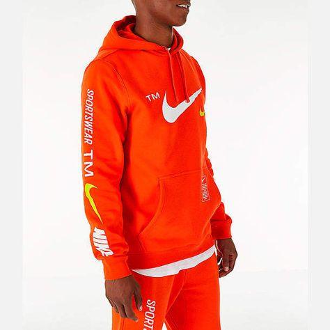 729f57497aaff Nike Mens Sportswear Microbranding Hoodie