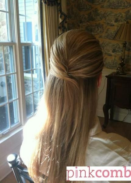 New Hair Styles Half Up Half Down Straight Updo 31 Ideas Up Hairdos Half Updo Hairstyles Hair Styles