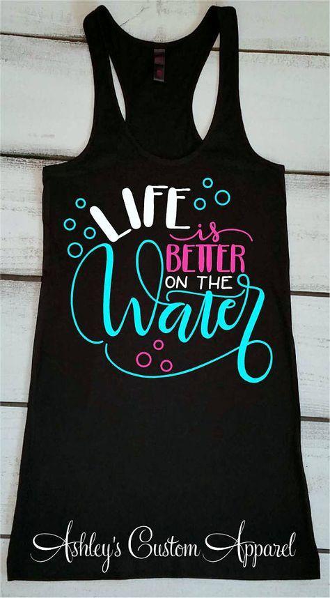Girl/'s Summer Tank Girl/'s Beach Shirt Toddler Summer Shirt Girl/'s Pool Tank Summer Vacation Shirt Girl/'s Beach Tank Girl/'s Pool Shirt