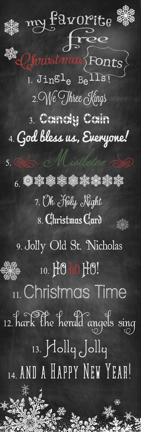 Free Christmas Fonts