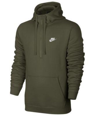 Nike Men's Half Zip Hoodie Black 2XL