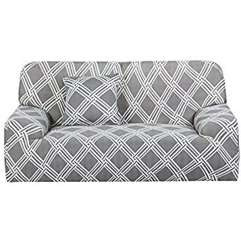 Amazon Com Uxcell Stretch Sofa Cover Loveseat Couch Slipcover Machine Washable Stylish Furniture Pr Couch And Loveseat Slip Covers Couch Loveseat Slipcovers