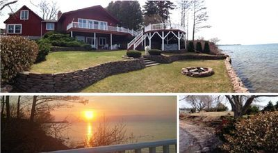 All Year Lakehouse On Lake Ontario Ny Games Room Hottub Fireplace Pet Friendly Lake House Vacation Property Hot Tub