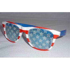 0a684969c13 Amazon.com  American Flag Sunglasses Stars and Stripes Glasses  USA ...