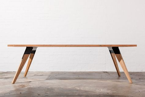 Industrial Dining Tables Melbourne Timber Dining Table Dining
