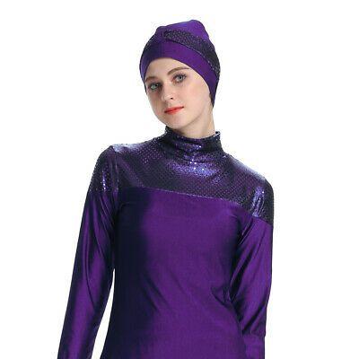 Advertisement Ebay Womens Muslim Burkini Swim Costume Modest Swimwear Beach Bathing Suit Arab 3xl Modest Swimwear Swimming Costume Solid Color Swimsuit