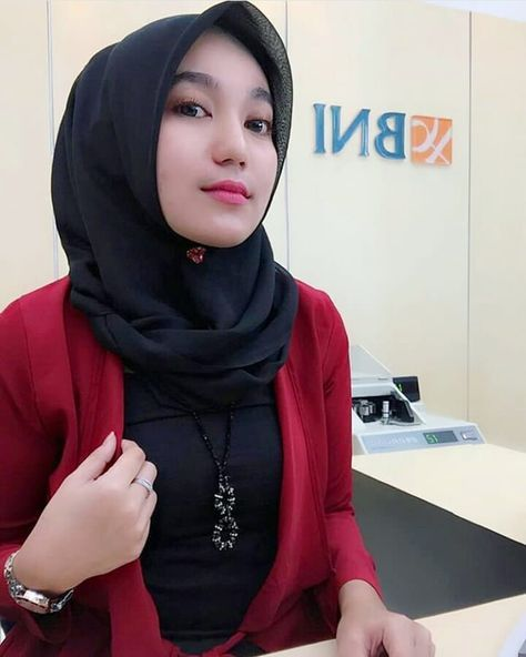 20 Ide Pegawai Bank Jilbab Cantik Kecantikan Wanita