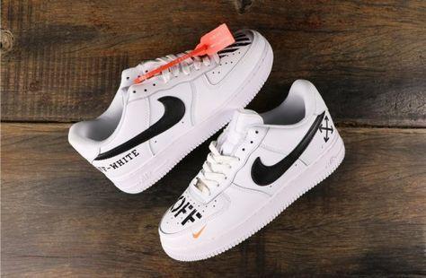 Nike Air Force One   AF1 CDG & Drip   Custom Sneakers by Custom ...