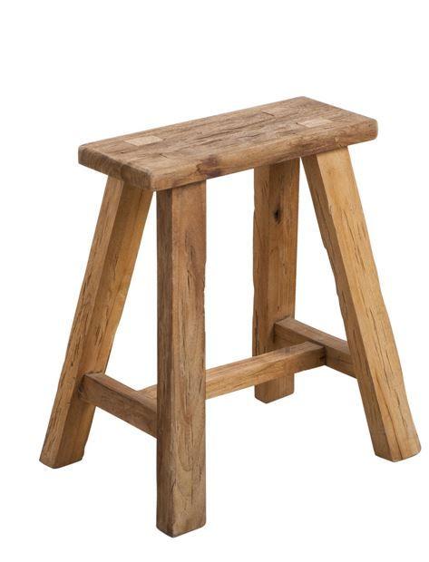 Meuble H&h : meuble, BRYCE, Banco, Natural, Tabouret,, Mobilier, Salon,, Meuble, Salle