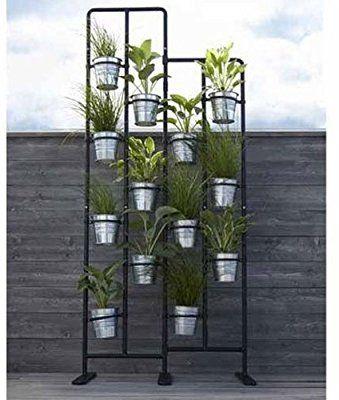Amazon Com Vertical Metal Plant Stand 13 Tiers Display Plants