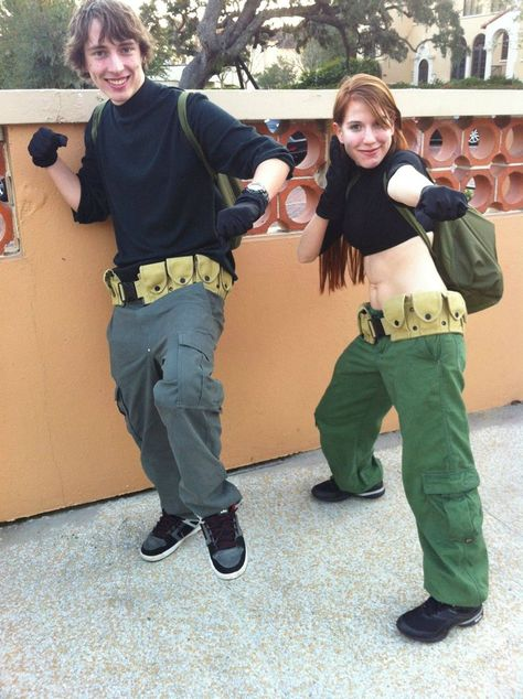 Kim Possible and Ron Stoppable cosplay. This is what I've been dying to do!