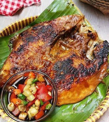 Ikan Bawal Bakar Madu Resep Ikan Bakar Resep Masakan Resep Makanan India