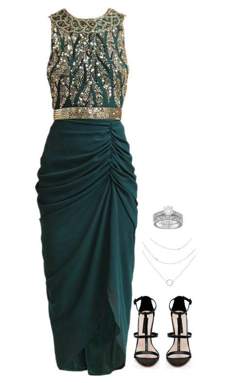 """""""shay's ootn."""" by g-lamx ❤ liked on Polyvore featuring Virgos Lounge, Forever New and Allurez"""