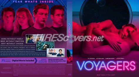 DVD Cover Custom DVD covers BluRay label movie art - Blu-ray CUSTOM Covers - V / Voyagers (2021)