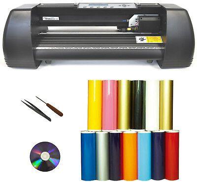 Details About 14 Laser Point 500g Heat Press Transfer Vinyl Cutter Plotter Sign Car Decal Pu Vinyl Cutter Silicone Gel Heat Transfer Vinyl