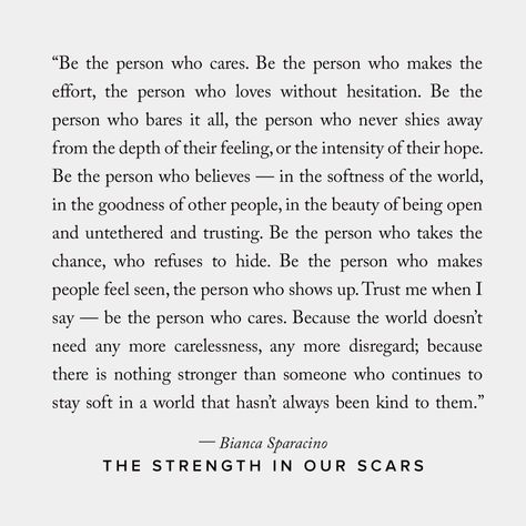 The Strength In Our Scars, a Book by Bianca Sparacino   Shop Catalog