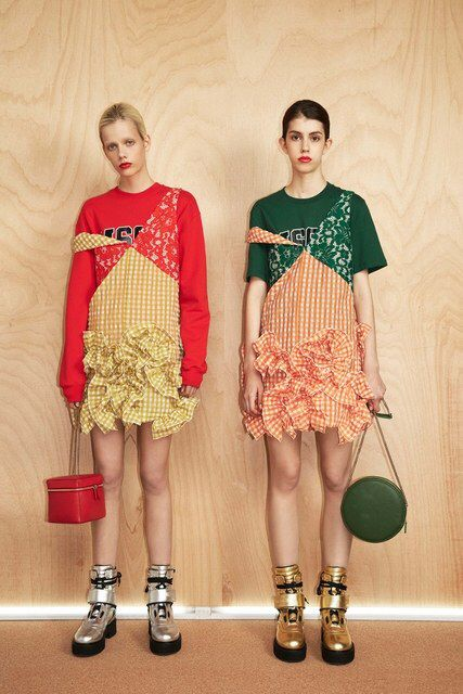 MSGM Resort 2017 Fashion Show - Vogue - www.