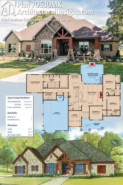 Pin on House plans Ranch House Design New Templates on