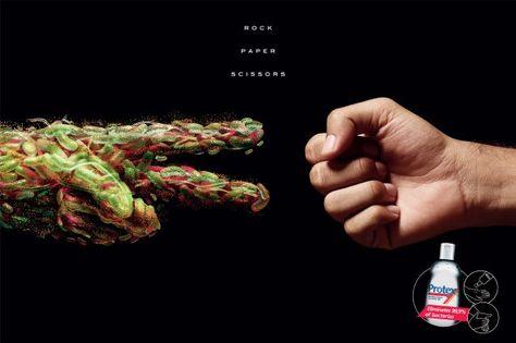 Protex Antibacterial Hand Sanitizer Con Imagenes Diseno