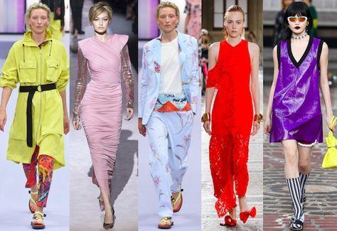 El color es uno de los elementos clave en las tendencias de moda de temporada y todo apunta que seguirá siéndolo también la próxima primavera verano 2018.