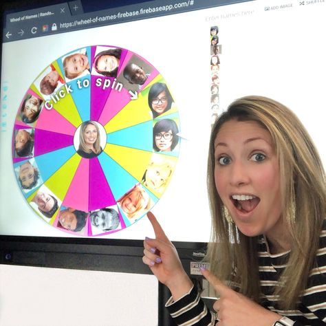 The free web tool, Wheel of Names, added the ability to add images to the digital spinner! 3rd Grade Classroom, School Classroom, Classroom Activities, Classroom Organization, Classroom Management, Flipped Classroom, Classroom Ideas, Google Classroom, Behavior Management