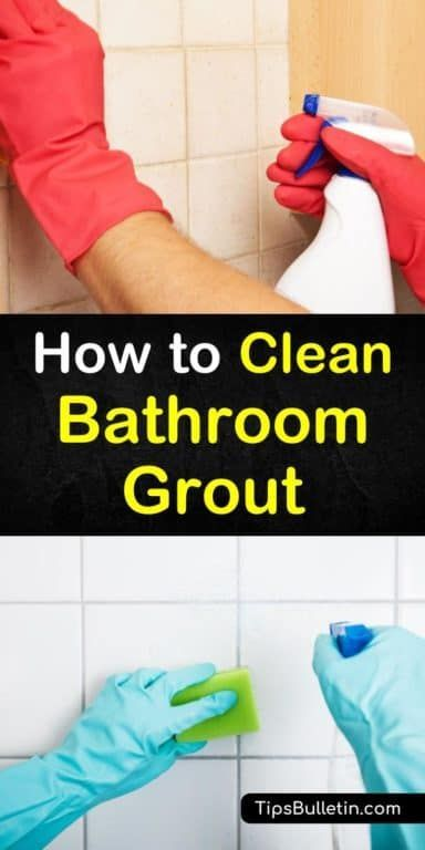 5 Easy Diy Ways To Clean Bathroom Grout Bathroom Cleaning Clean