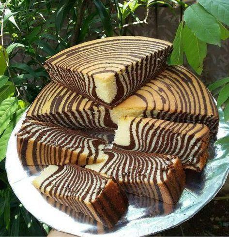 طرز تهیه کیک زبرا سه رنگ و فیلم طرز تهیه کیک زبرا بدون فر Bakery Recipes Zebra Cake Pastry And Bakery