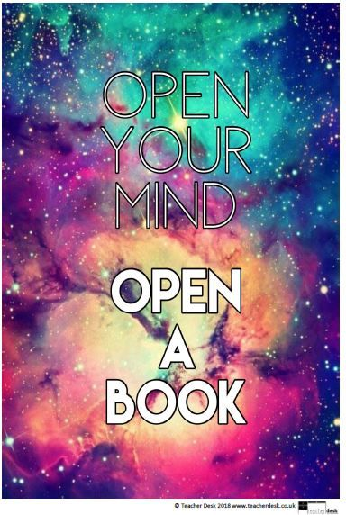 World Book Day Inspirational Reading Posters Quotes