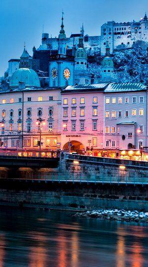 Winter Blues.. Salzburg, Austria | by Nomadic Vision Photography