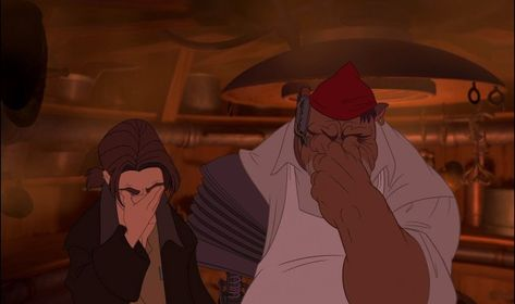 Treasure Planet (2002) - Animation Screencaps