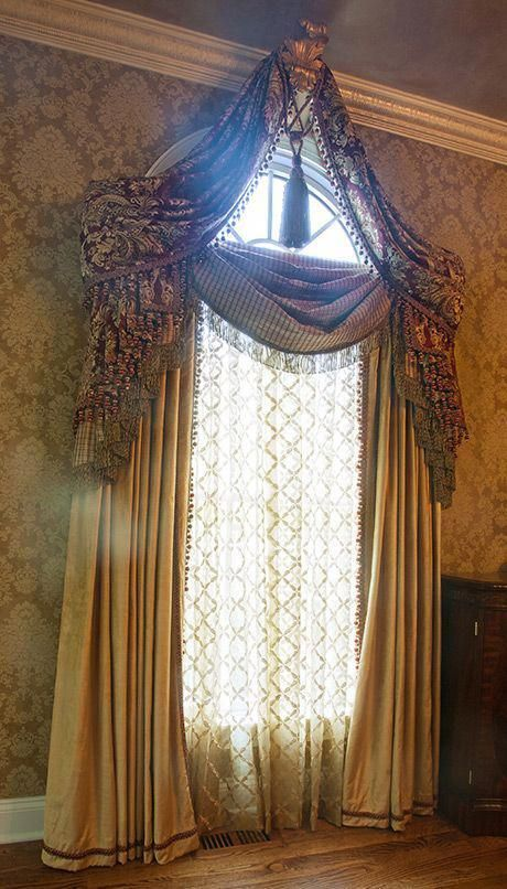 Lovely Keyword Kitchencurtains Victorian Curtains Victorian Windows Arched Window Treatments