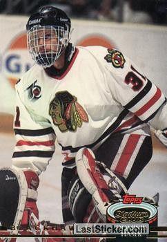 DOMINIK HASEK 1992-93 CHICAGO BLACKHAWKS in 2020 | Blackhawks hockey,  Chicago blackhawks hockey, Hockey