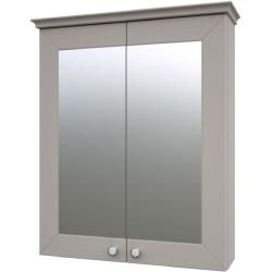 Badezimmer Spiegelschrank Dindigul 07 Farbe Grau 73 X 64 X