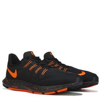 Quest Running Shoe Black/Orange nike