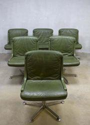 Vintage Design Bureaustoel.Green Office Chair Vintage Design Bureaustoel Lounge Chair
