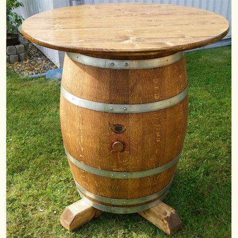 Weinfass Stehtisch Mit 100 Cm Tischplatte Und Kreuzfuss Weinfass